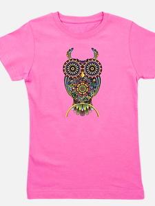 Vibrant Owl Girl's Tee