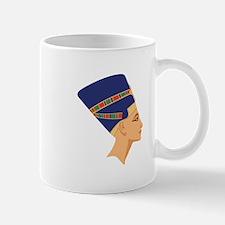 Egyptian Nefertiti Queen Mugs