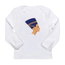 Egyptian Nefertiti Queen Long Sleeve T-Shirt
