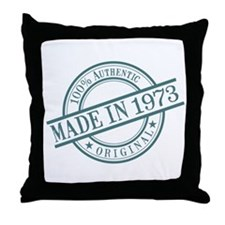 Made in 1973 Throw Pillow