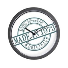 Made in 1973 Wall Clock