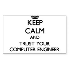 Keep Calm and Trust Your Computer Engineer Decal