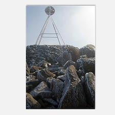 mount wellington peak Postcards (Package of 8)