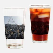 mount wellington peak Drinking Glass