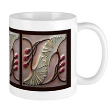 Art Deco Ginko Mugs