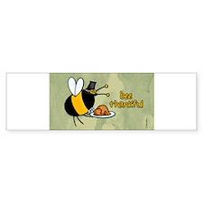 Cool Thanksgiving turkey Bumper Sticker
