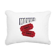 Movies Rectangular Canvas Pillow
