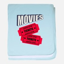 Movies baby blanket