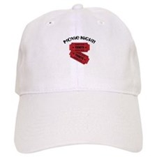 Movie Night! Baseball Baseball Cap