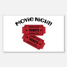 Movie Night! Decal