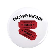 "Movie Night! 3.5"" Button (100 pack)"