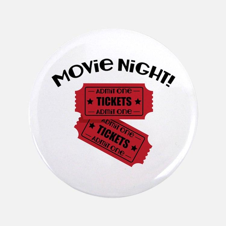 "Movie Night! 3.5"" Button"