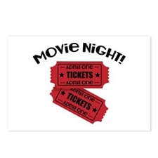 Movie Night! Postcards (Package of 8)