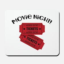 Movie Night! Mousepad