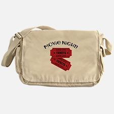 Movie Night! Messenger Bag