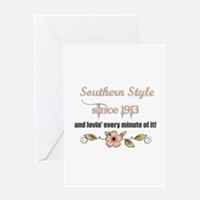 Southern Style 1913 Greeting Cards