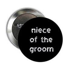 Niece of the Groom Button