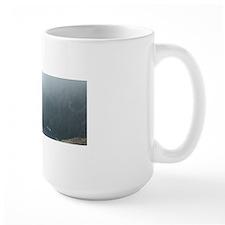 misty cliffs Mug
