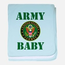 Army Baby baby blanket
