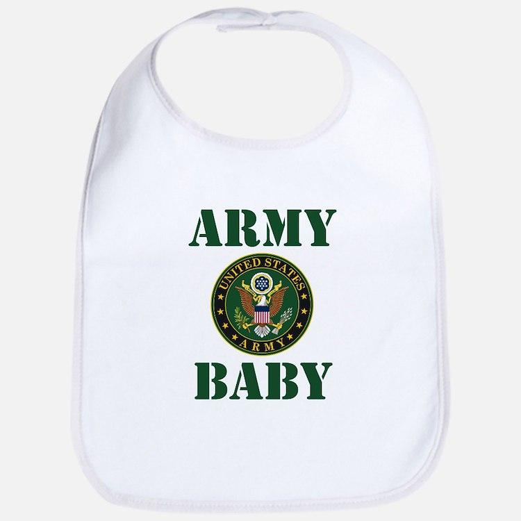 Army Baby Bib