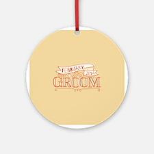 Groom 2014 February Ornament (Round)