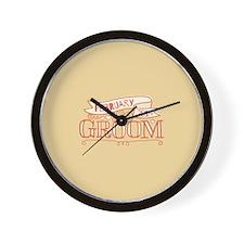 Groom 2014 February Wall Clock