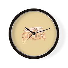 Groom 2014 January Wall Clock