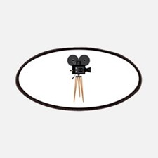Film Reels Camera Movie Patches