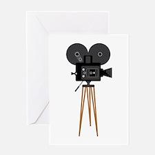Film Reels Camera Movie Greeting Cards