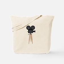 Film Reels Camera Movie Tote Bag