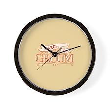 Groom 2014 March Wall Clock
