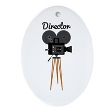 Director Ornament (Oval)