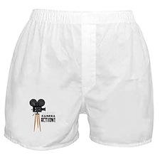 Lights Camera Action! Boxer Shorts