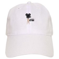 Lights Camera Action! Baseball Baseball Cap
