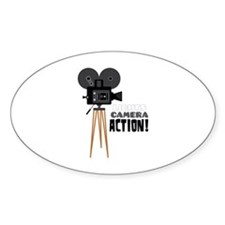 Lights Camera Action! Decal