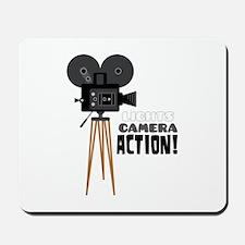 Lights Camera Action! Mousepad
