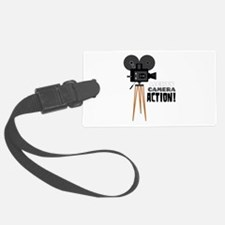 Lights Camera Action! Luggage Tag