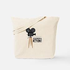 Lights Camera Action! Tote Bag