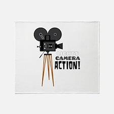 Lights Camera Action! Throw Blanket
