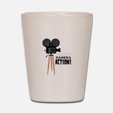 Lights Camera Action! Shot Glass