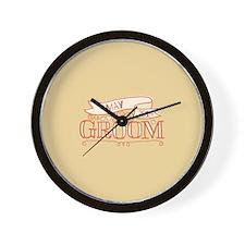 Groom 2014 May Wall Clock