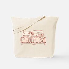 Groom 2015 April Tote Bag