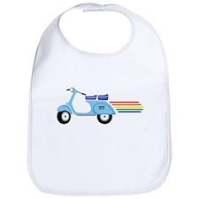 Rainbow Scooter Bib