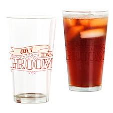 Groom 2015 July Drinking Glass