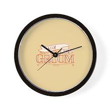 Groom 2015 May Wall Clock