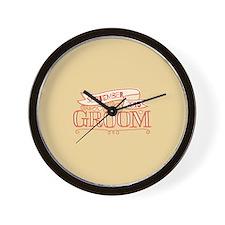 Groom 2015 September Wall Clock