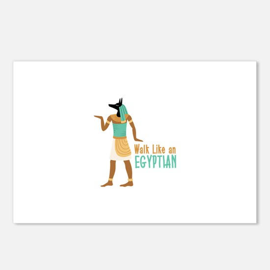 Walk Like an EGYPTIAN Postcards (Package of 8)