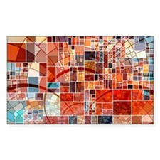 Abstract Squares Design Decal
