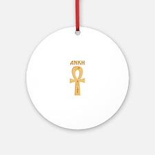 ANKH Ornament (Round)