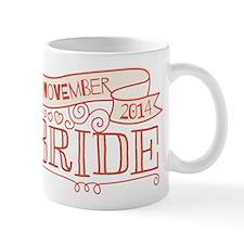 Bride 2014 November Mugs